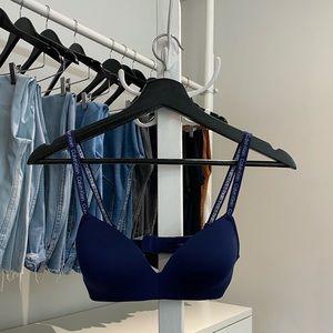 Calvin Klein new 36A blue bra